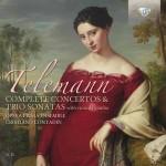 Cristiano Contadin · Opera Prima Ensemble – Georg Philipp Telemann: Complete Concertos and Trio Sonatas with Viola Da Gamba