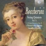 Luigi Puxeddu, I Virtuosi della Rotonda - Luigi Boccherini: String Quintets Op. 29, Vol. X