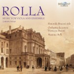 "Simonide Braconi · Orchestra da Camera ""Ferruccio Busoni"", Massimo Belli – Alessandro Rolla: Music for Viola and Ensemble"