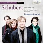 "Diogenes Quartet – Franz Schubert: Complete String Quartets Vol. 4 — String Quartet in D minor D810 ""Der Tod und das Mädchen"" · String Quartet in D D74 · Minuet in D D86"