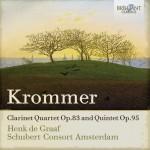 Henk de Graaf · Schubert Consort Amsterdam – Franz Krommer: Clarinet Quintets and Quartets