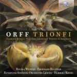Rundfunkchor & Rundfunk-Sinfonie-Orchester Leipzig, Herbert Kegel – Carl Orff: Trionfi: Carmina Burana · Catulli Carmina · Trionfo di Afrodite