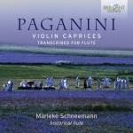 Marieke Schneemann – Niccolò Paganini: Violin Caprices, Transcribed for Flute
