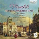 Mario Folena, L'Arte dell'Arco, Federico Guglielmo - Antonio Vivaldi: Flute Concertos Op. 10