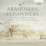 Mariam Sarkissian & Artur Avanesov - Armenian Composers: Art Songs and Piano Music