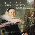 Pietro Degli Antoni: 12 Sonatas Op. 4