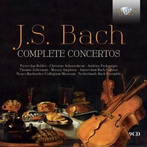 95303 JS Bach Complete Concertos 9CD